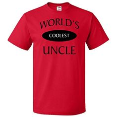 Brought to you by Avarsha.com: <div><div>World's Coolest Uncle in Black. Show your uncle that he is number one in your book! T-Shirt</div><ul><li>5.0 oz., pre-shrunk 100% cotton</li><li>Seamless 1x1 rib collar</li><li>Printed In USA/Imported From Various Countries</li><li>Black Heather and all Retro Colors are 50/50 cotton/polyester</li><li>Ash is 98/2 cotton/polyester and Athletic Heather is 90/10 cotton/polyester</li></ul><div>5.0 oz., pre-shrunk 100% cotton</div></div>