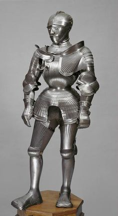 Riefelküriss für Feld und Turnier, 16th century armour for field and tournament, created for Duke Ulrich, son of Heinrich von Württemberg. Located in the Kunsthistoriches Museum Neue Burg arms and armour collection.