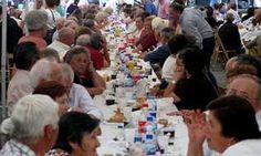 La fiesta de los mayores de Negreira reunió a unas setecientas personas