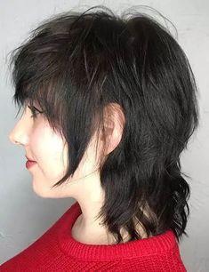 25 Super Fun Shag Haircuts Short Hair Cuts, Short Hair Styles, Thick Blonde Hair, V Bangs, Modern Mullet, Messy Hair Look, Edgy Haircuts, Texturizer On Natural Hair, Lilac Hair