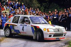 Peugeot 205 T16 Group-B Rally Car
