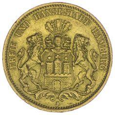 20 Mark 1877 J