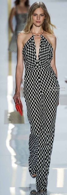 DVF!!  Too much plunge but love the pantsuit!!