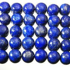 250ct/106pcs Finest Fantastic Natural Lapis Lazuli Cabochon Gemstone Ring Size