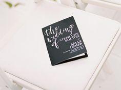 25 Ceremony Program Ideas You'll Love   TheKnot.com