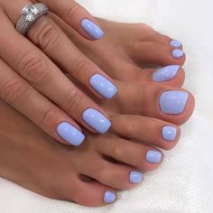 In search for some nail designs and ideas for your nails? Listed here is our set of must-try coffin acrylic nails for cool women. Summer Toe Nails, Spring Nails, Summer Nail Colors, Gel Nail Colors, Cute Nail Colors, Summer Shellac Nails, Cute Shellac Nails, Cute Nails For Spring, Best Toe Nail Color