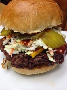 Bobby Flay's All American Crunchburger Recipe