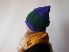 Czapka stożek w MMart na DaWanda.com Knitted Hats, Knitting, Etsy, Fashion, Moda, Tricot, Fashion Styles, Knit Caps, Cast On Knitting