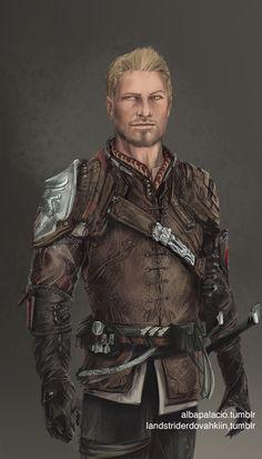 Alistair, by albapalacio - Dragon Age: Origins