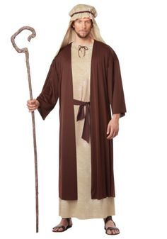 BOYS JOSEPH NATIVITY FANCY DRESS COSTUME HALLOWEEN AGE 4-6 YRS REDUCED