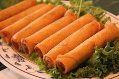 Lumpia. My favorite food from Guam.