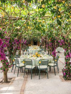 Inside Hong Kong-based It-Girl Feiping Chang's Elaborate Wedding Extravaganza in Capri