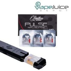 Limitless Pulse PLY ROCK Replacement Refillable PODS, Replacement Cartridges, Limitless Mod Co., - Vape Juice Depot