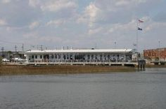 Fleet Landing, Charleston - one of the few restaurants on the water and the food is great too!