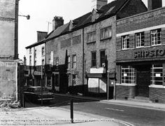 Broad Street, east side 1971 Nottingham Pubs, Industrial Architecture, East Side, Family History, Past, Street, Shops, Urban, Memories