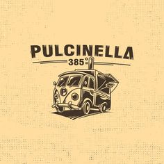 Designs | Combine the Neapolitan pizza with a Volkswagen T1 Pritsche from the year 1963 as food truck! | Logo design contest