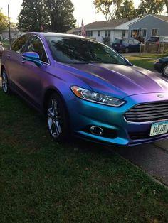 Plastidipped fusion Custom Car Paint Jobs, Custom Paint, Custom Cars, Car Paint Colors, Car Colors, Princess Car, Mazda Cars, Car Mods, Diy Car