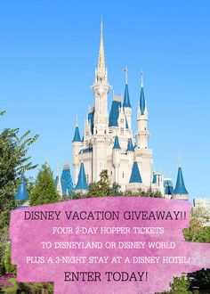 Disney Vacation Give