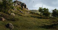 ArtStation - UE4 Meadow, Eoin O'Broin