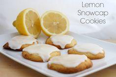 Lemon Glazed Cookie Recipe  #lemon #cookies #recipe