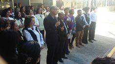 En el acto conmemorativo estuvo presente el Delegado del IMSS en Michoacán, Román Acosta Rosales, quien reconoció y felicitó a los ahora trabajadores de dicha guardería – Morelia, Michoacán, 15 ...