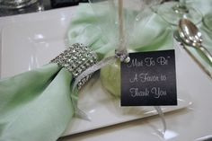 Mint to be mint pop favors Decor by Essence of Events, LLC