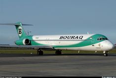 Bouraq Indonesia McDonnell Douglas MD-82 (DC-9-82) aircraft picture