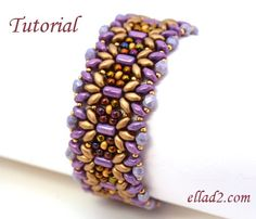 Margarita Bracelet is one quick and easy project for you.Beading tutorial is very detailed with photos of each step. Material you need: Rulla beads,Miyuki