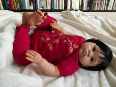 Cuddles, a Donna Rubert sculpt By Karen's Kreations - Reborns.com