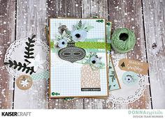 Kaisercraft Mint Wishes Christmas Card Inspiration Holiday Cards, Christmas Cards, Christmas Ideas, Beautiful Handmade Cards, Merry And Bright, Mini Albums, Paper Crafts, Mint, Crafty