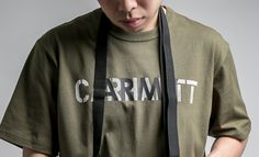 """Carhartt WIP SS17 """"Military"""" Collection - S/S CA Training Tee in Rover Green.  Available now at #CROSSOVER Flagship, Tebrau City and Mid Valley. #CarharttWIP #carharttwip_my #military #TrainingTee #crossoverconceptstore"""