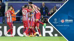 Melhores Momentos - Leicester 1 x 1 Atlético de Madrid - Champions Leagu...
