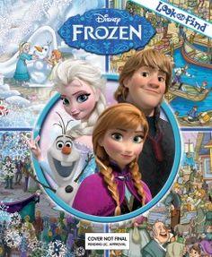 Disney Frozen – Look and Find Book #disneyfrozen #disneyfrozenelsa #disneyfrozenanna #disneyfrozenolaf #disneyfrozenkristoff #disneyfrozensven