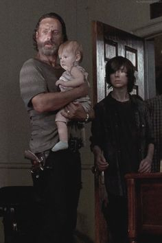 Chadler Riggs, his little sister, and Rick are the most important ones in the show.. my opinion