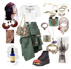 """""""Namaste"""" by effortless-and-natural ❤ liked on Polyvore featuring Faith Connexion, Free People, Prada, Boohoo, Christophe Sauvat, Accessorize, Sole Society, INDIE HAIR, Jaeci and Foundrae"""