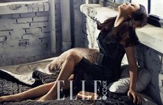 For Kim Hee Ae and Yoo Ah In's previously released steamy spreads from Elle Korea's April edition, go here and here. Yoo Ah In, Korean Wave, Korean Actresses, Korean Celebrities, Fangirl, Poses, Couples, Sexy, Photography