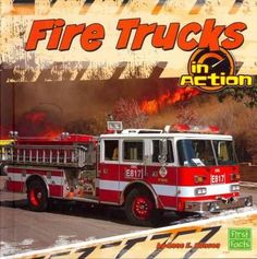 Firefighters use fire trucks and the equipment they carry to put out fires and rescue people. Learn more about how these vehicles help with this life saving work in Fire Trucks in Action. Color: Fire.