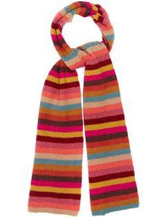 wool & angora scarf
