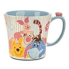 Disney Winnie Pooh Tigger Piglet Eeyore Roo coffee mug large Disney Coffee Mugs, Friends Coffee Mug, Cute Coffee Mugs, Cool Mugs, Coffee Cups, Winnie The Pooh Mug, Winnie The Pooh Friends, Pooh Bear, Disney Winnie The Pooh