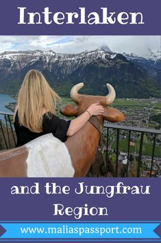Interlaken and the Jungrau Region are a must see when visiting Switzerland! Visit www.maliaspassport.com for more travel tips!