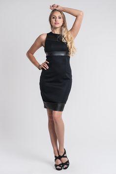Sukienka SL2081B www.fajne-sukienki.pl Black, Dresses, Fashion, Vestidos, Moda, Black People, Fashion Styles, Dress, Fashion Illustrations