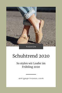 Loafer stylen, so kombinierst Du den Trendschuh im Frühling 2020, Loafer richtig kombinieren, Schuhtrends Frühling 2020, Modetrend 2020, Wie Du Loafer richtig und vor allem modern kombinierst, frühlingshafte Outfits mit Loafer, Streetstyle Outfit 2020 mit Loafer, diese Loafer Modelle lieben wir, Loafer Styling Tipps, www.amigaprincess.com Vintage Mode, Outfit Trends, Loafers, Flats, Blog, Life, Outfits, Shoes, Fashion