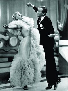 """I could watch fred and ginger dance forever Ginger Rogers and Fred Astaire in """"Swing Time"""", 1936 Golden Age Of Hollywood, Vintage Hollywood, Hollywood Stars, Classic Hollywood, Hollywood Icons, Hollywood Fashion, Hollywood Celebrities, Hollywood Glamour, Ginger Rogers"""