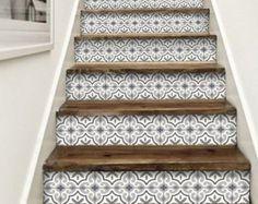15steps Stair Riser Vinyl Strips Removable Sticker Peel U0026 Stick : ST001.  TreppenstufenAufkleberStreifenInneneinrichtungWohnzimmerDekorationTreppeWarenkörbe  ...