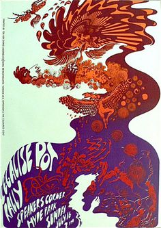 Osiris - Michael McInnerney - Legalize Pot Rally Psychedelic Poster - Recordmecca