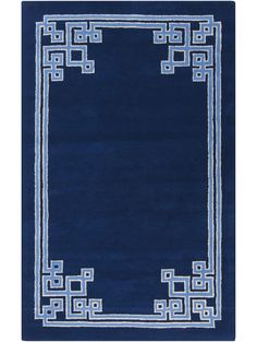 Adalyn Tufted Rug, Navy