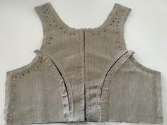 Det vanskeligste først – En bunad blir til Folk Costume, Sewing Patterns, Vest, Boho, Denim, Jackets, Clothes, Women, Drawing