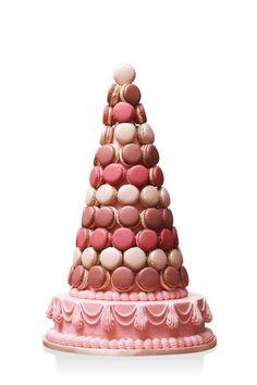 Pièce montée en macarons, Pierre Hermé #mariage