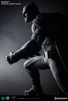 The Batman Premium Format Figure is available at Sideshow.com for fans of Batman v Superman: Dawn of Justice and Ben Affleck as the Dark Knight.