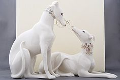 Greyhound Store Collectible Lenox Greyhound Figurines
